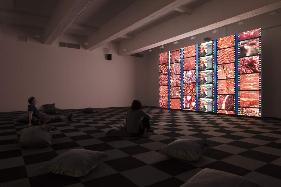 Shiyuan video installation