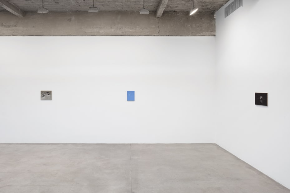 Powell install images of paintings