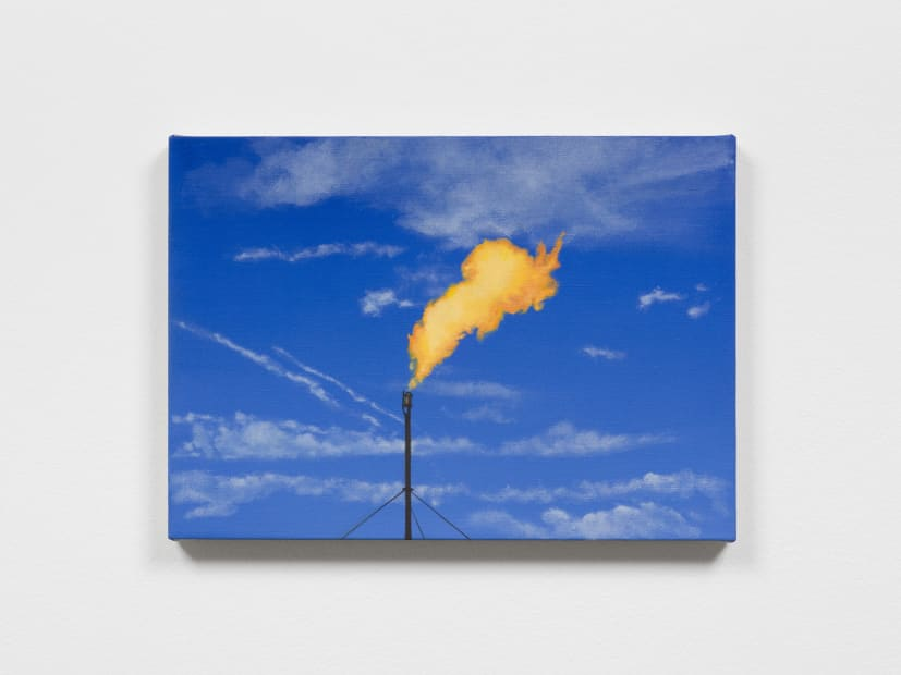 Powell flame painting