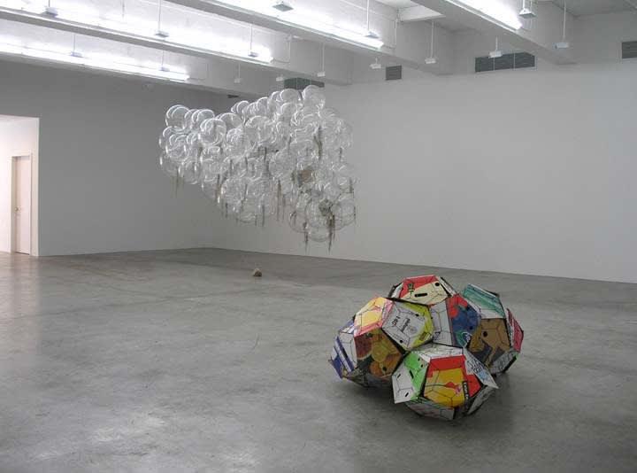 Saraceno installation view at TBG