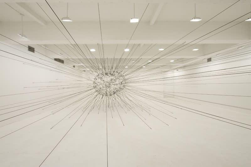 Saraceno large installation downstairs