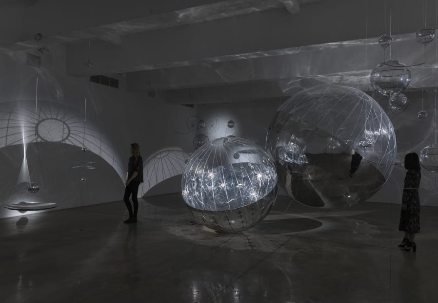 Saraceno theater of shadows install view