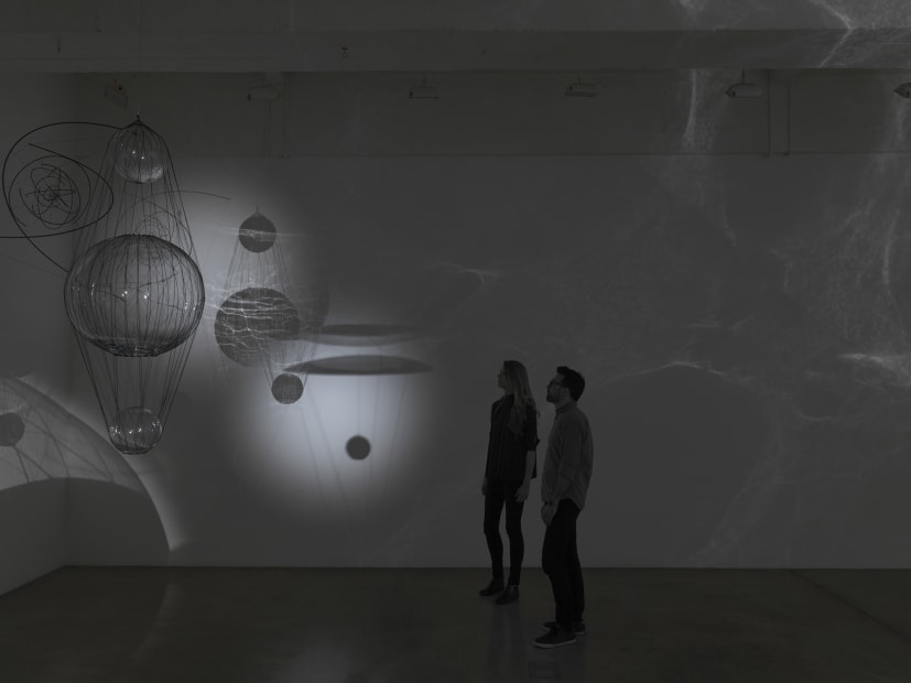 Saraceno theater of shadows install view scale