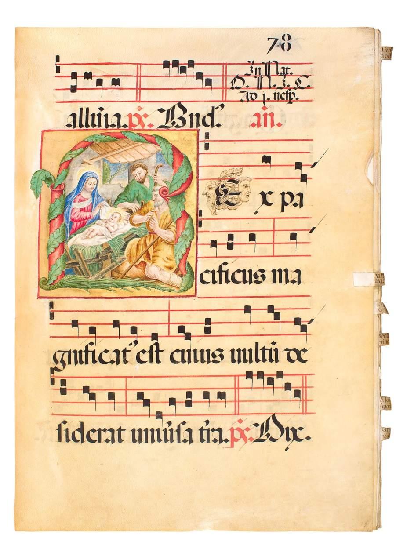 A Formidable Choir Book in its Original Binding