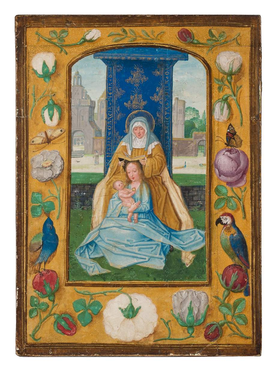 Virgin and Child with St. Anne (Anna Selbdritt)