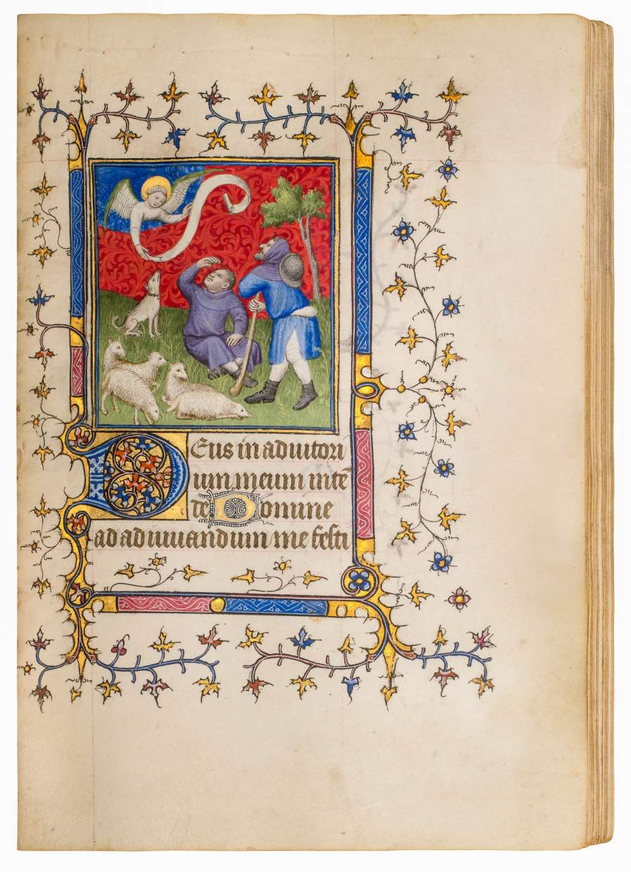 Book of Hours, use of Soissons or Laon