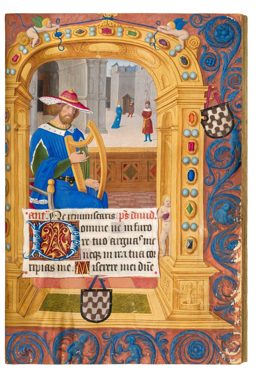 Rochechouart Book of Hours, use of Rome