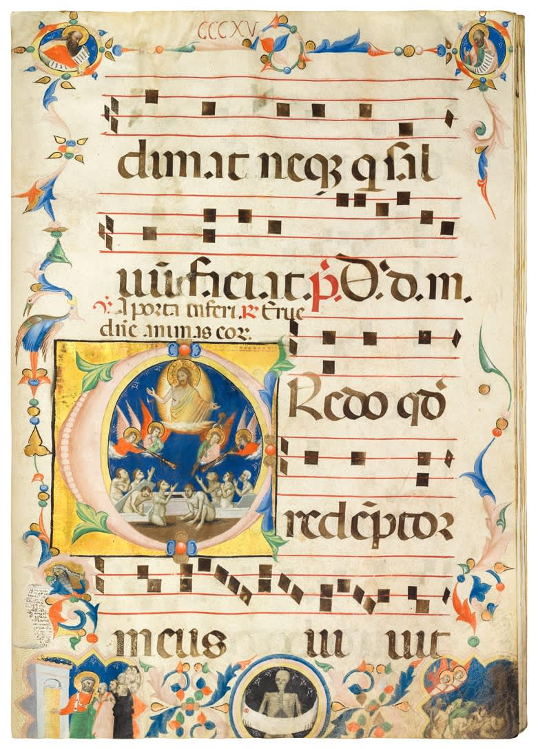 Antiphonar, Commune Sanctorum