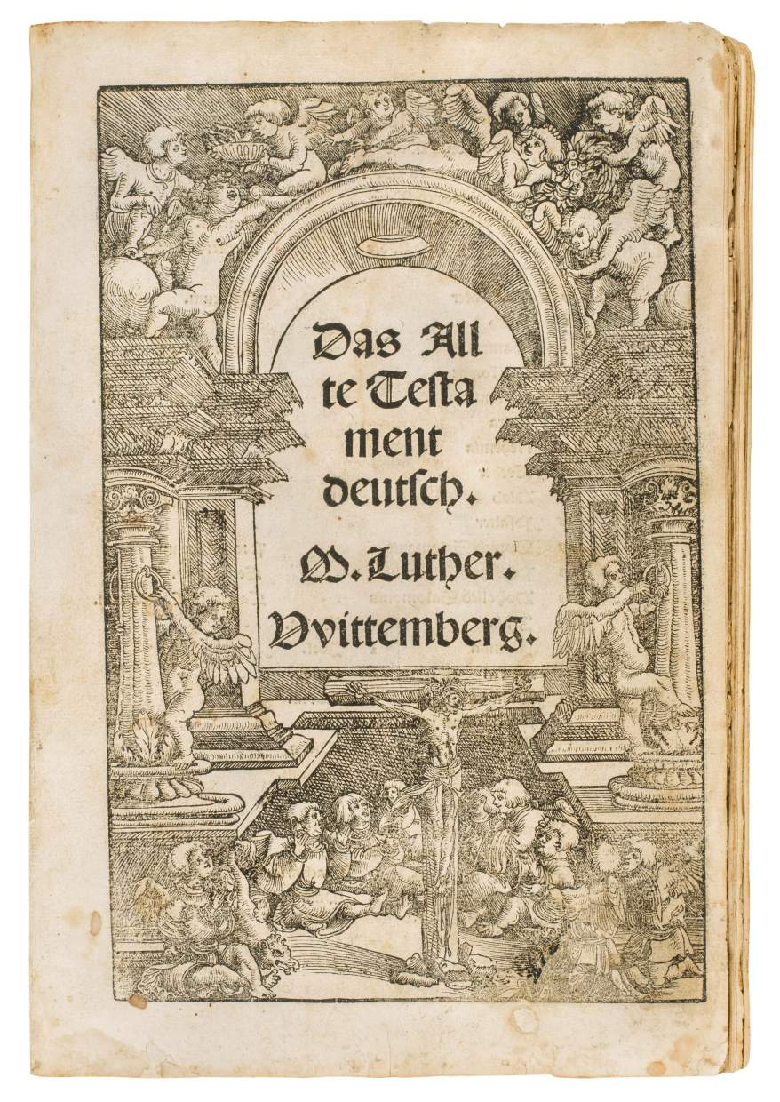 Extremely rare Luther Old Testament