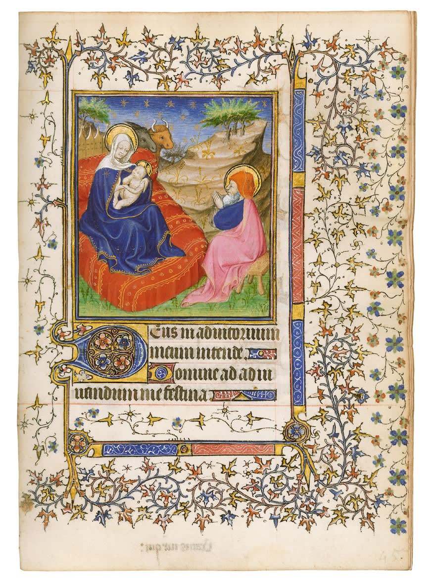 Barbet Book of Hours, use of Paris