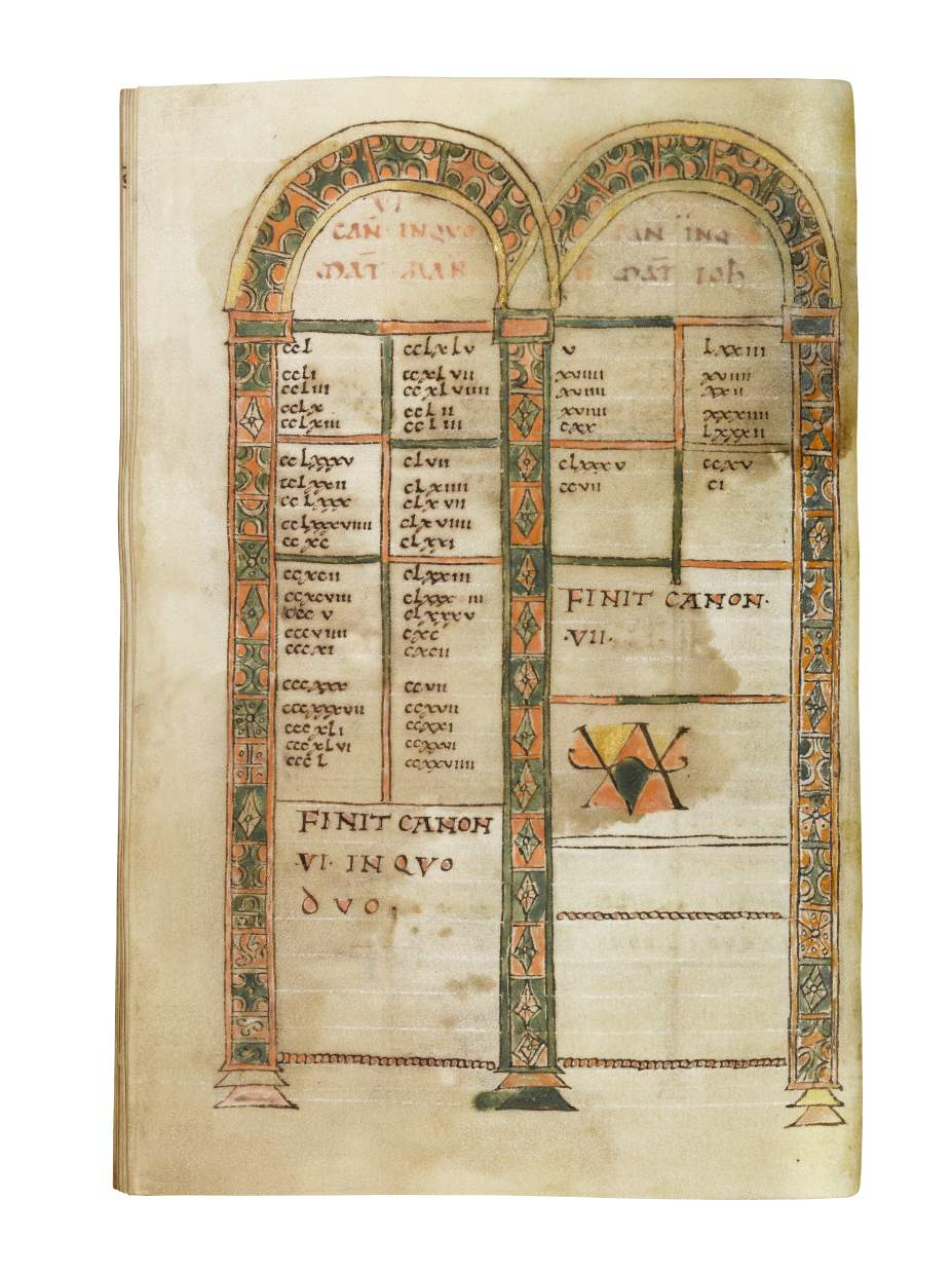 Four Gospels, in Latin