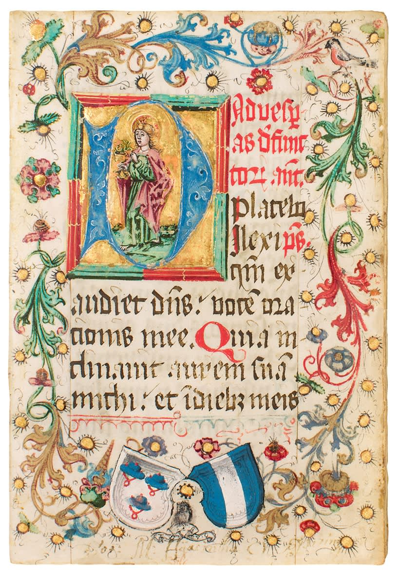 Totenoffizium und Heiligenlitanei