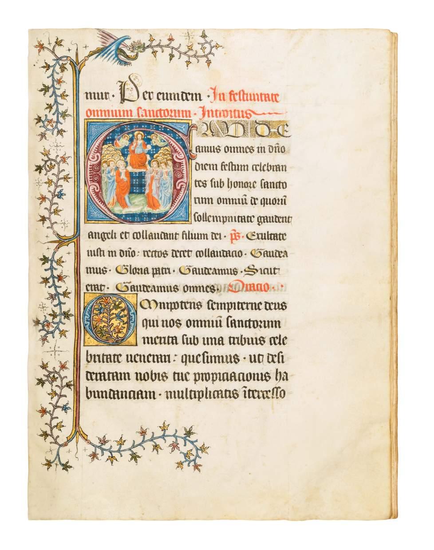 Missale for the Collegiate Church of St. Barnard