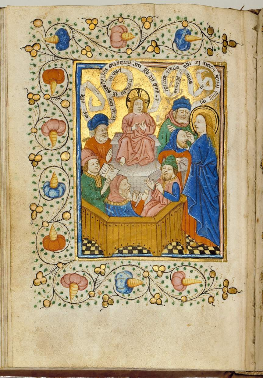 Book of Hours from the Masters of the Zwolle Bible