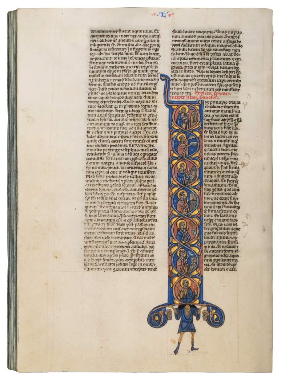 Biblia Latina with Hebrew names