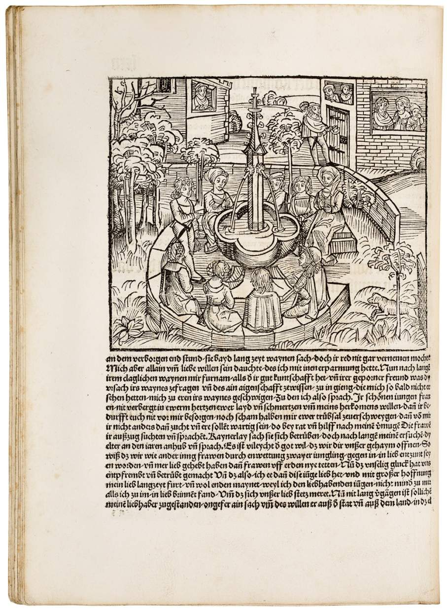 Boccaccio's First Masterpiece – The First and Only Complete German Translation