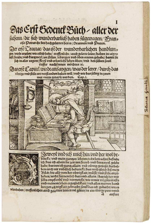 Fine Humanist Sammelband of Boccaccio, Petrarch and Apuleius