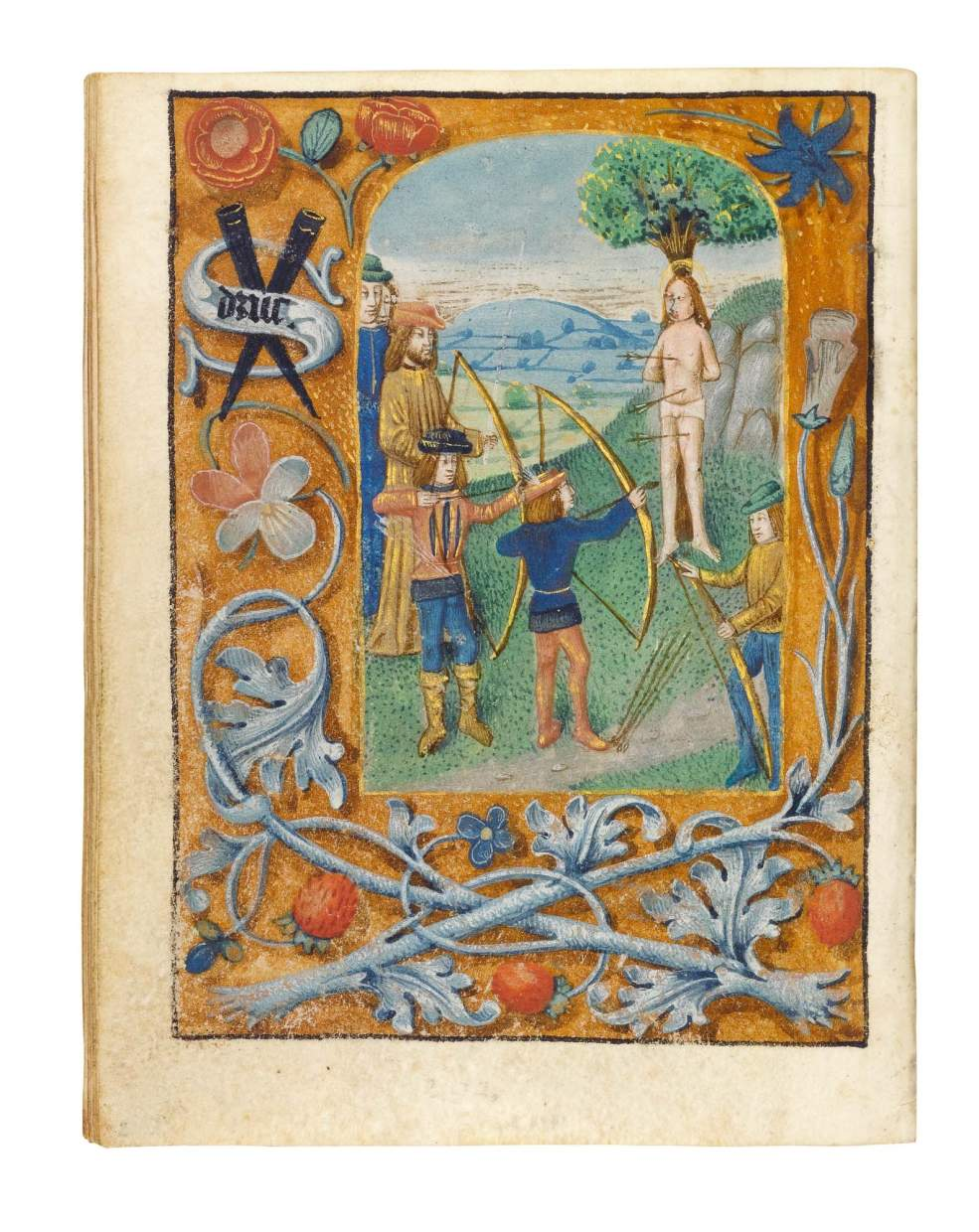 Serainchamps Book of Hours, use of Ghent and Liège