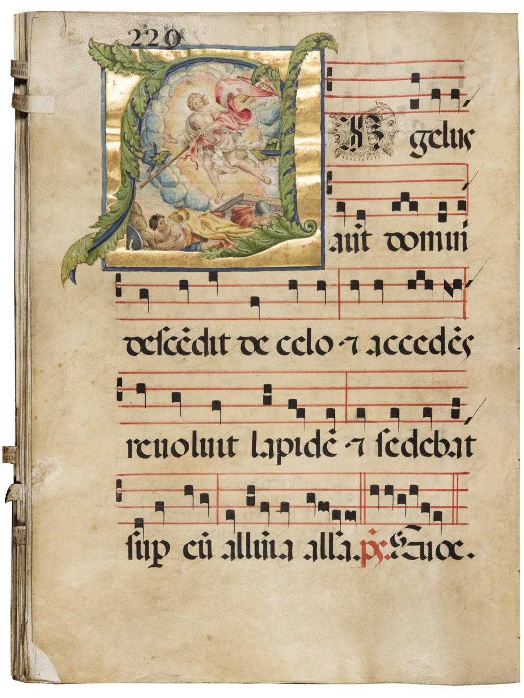 Artistic Showcase: Antiphonal with the proprium de tempore