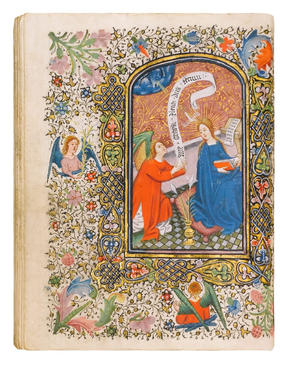 Zane Book of Hours, use of Rome