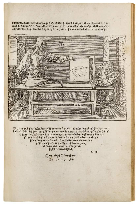 All three of Albrecht Dürer's groundbreaking artists' manuals