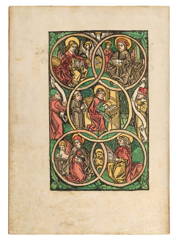 Speculum Humanae – a rare gem from Peter Berger's Augsburg press