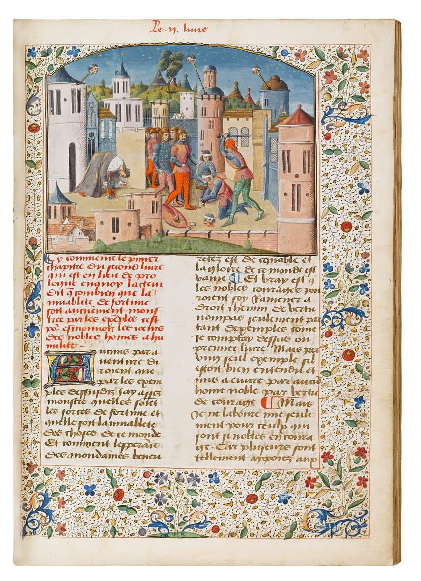 Boccaccio's Historical Biographies in French