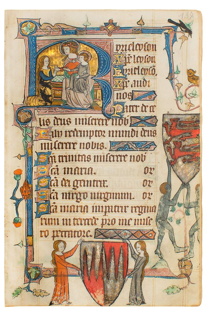 Beauchamp-Corbet Book of Hours, use of Sarum