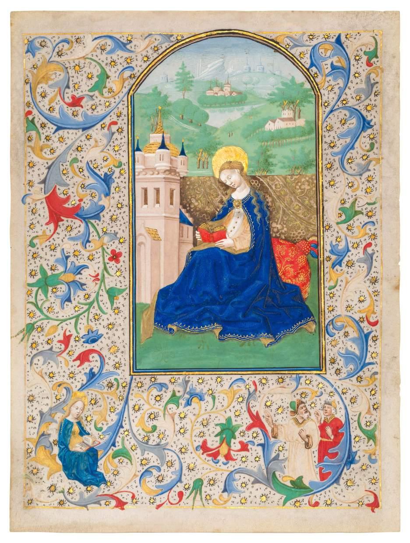 Saint Barbara Reading
