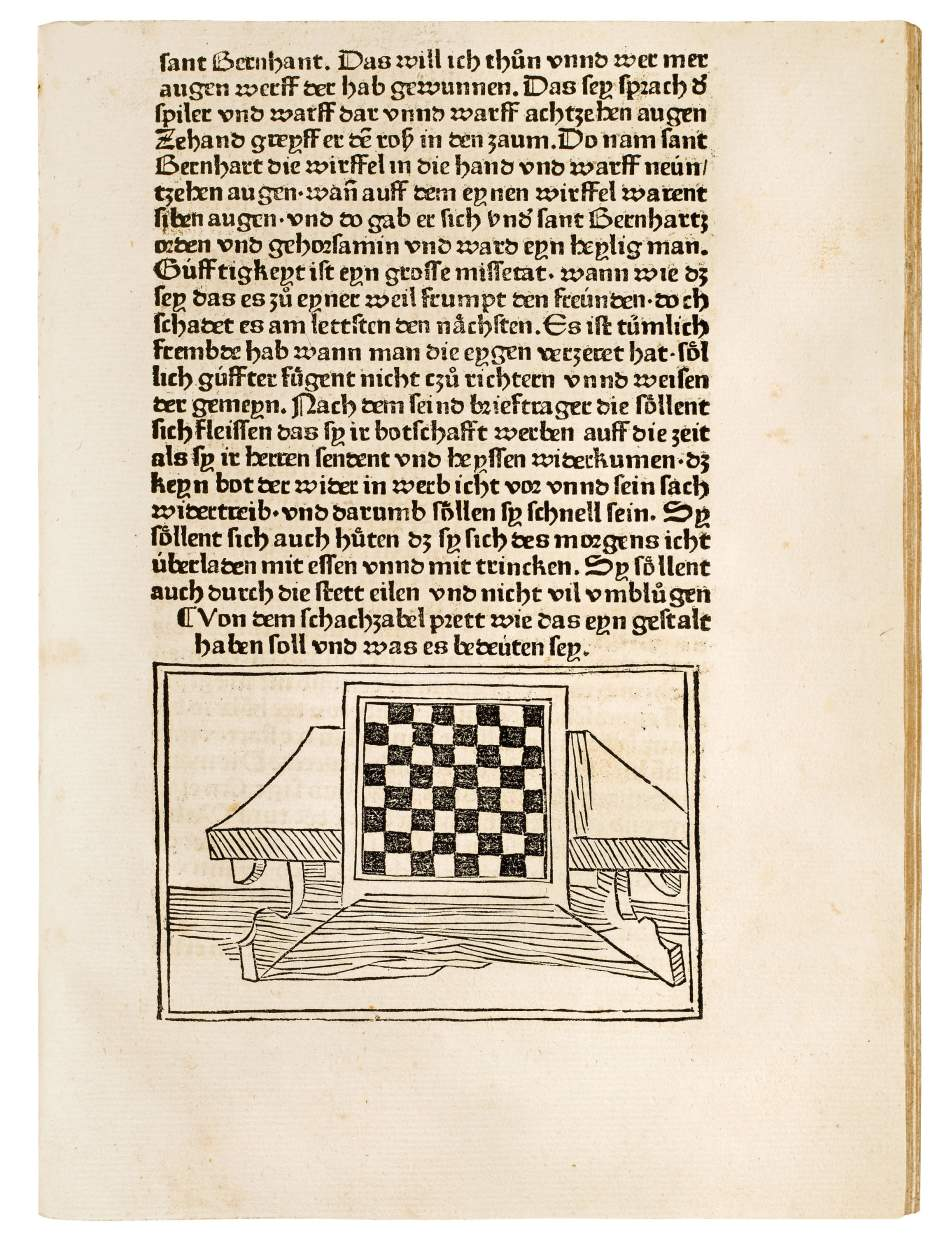 The First Printed Book on Chess