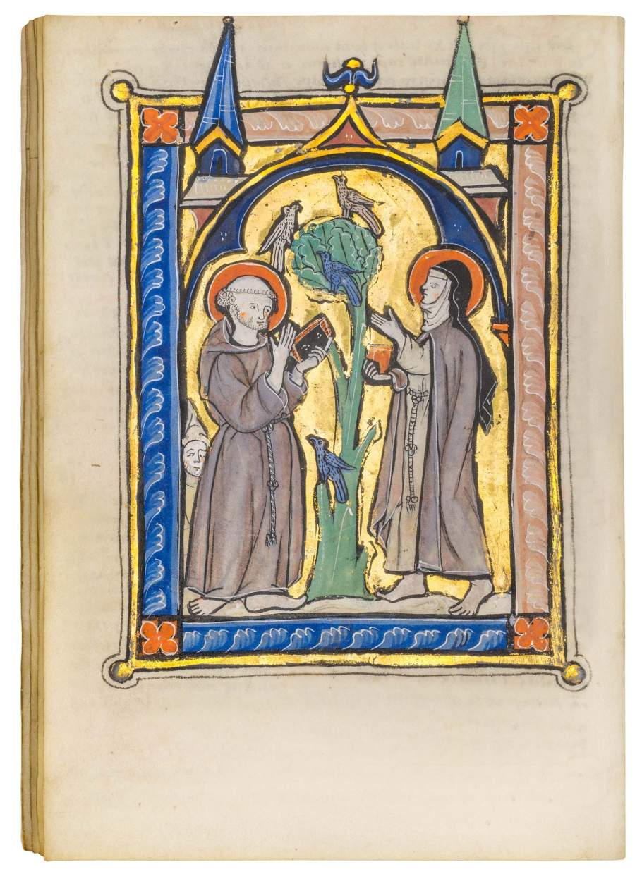 Fine Franciscan Psalter, use of Ghent