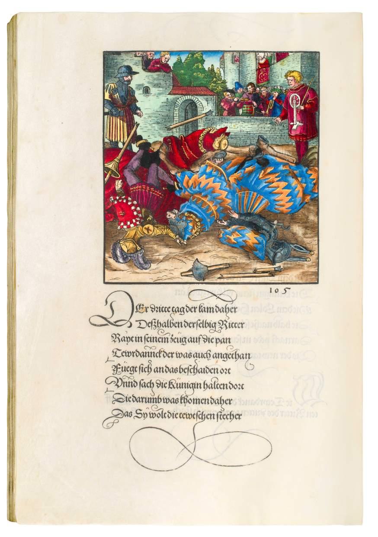 Maximilian I as an Epic Hero – An Illuminated, Princely Edition of the Theuerdank