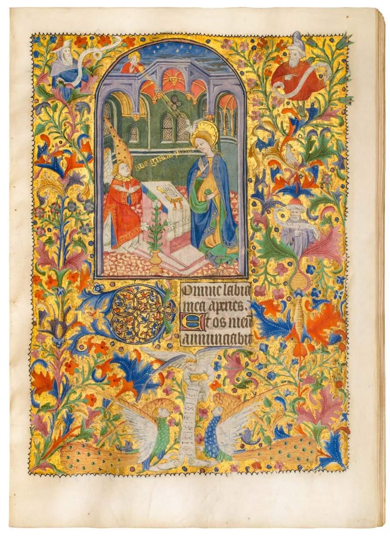 Talbot-Beauchamp Book of Hours, use of Sarum
