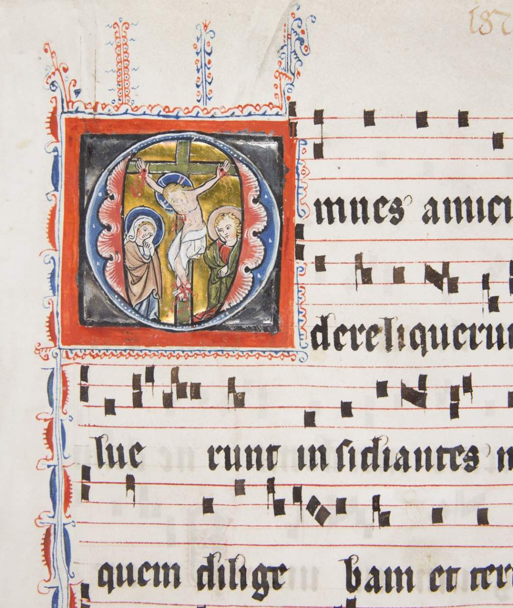 Sadness and Salvation: Crucifixion from an Antiphonal