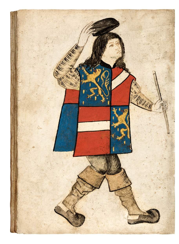 The Nassau-Vianden Armorial, or Wappenbuch
