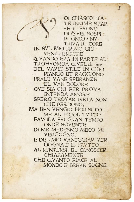 Canzoniere et Trionfi