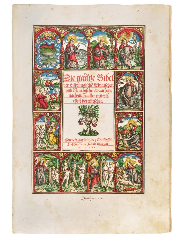 Biblia Germanica – Die gantze Bibel