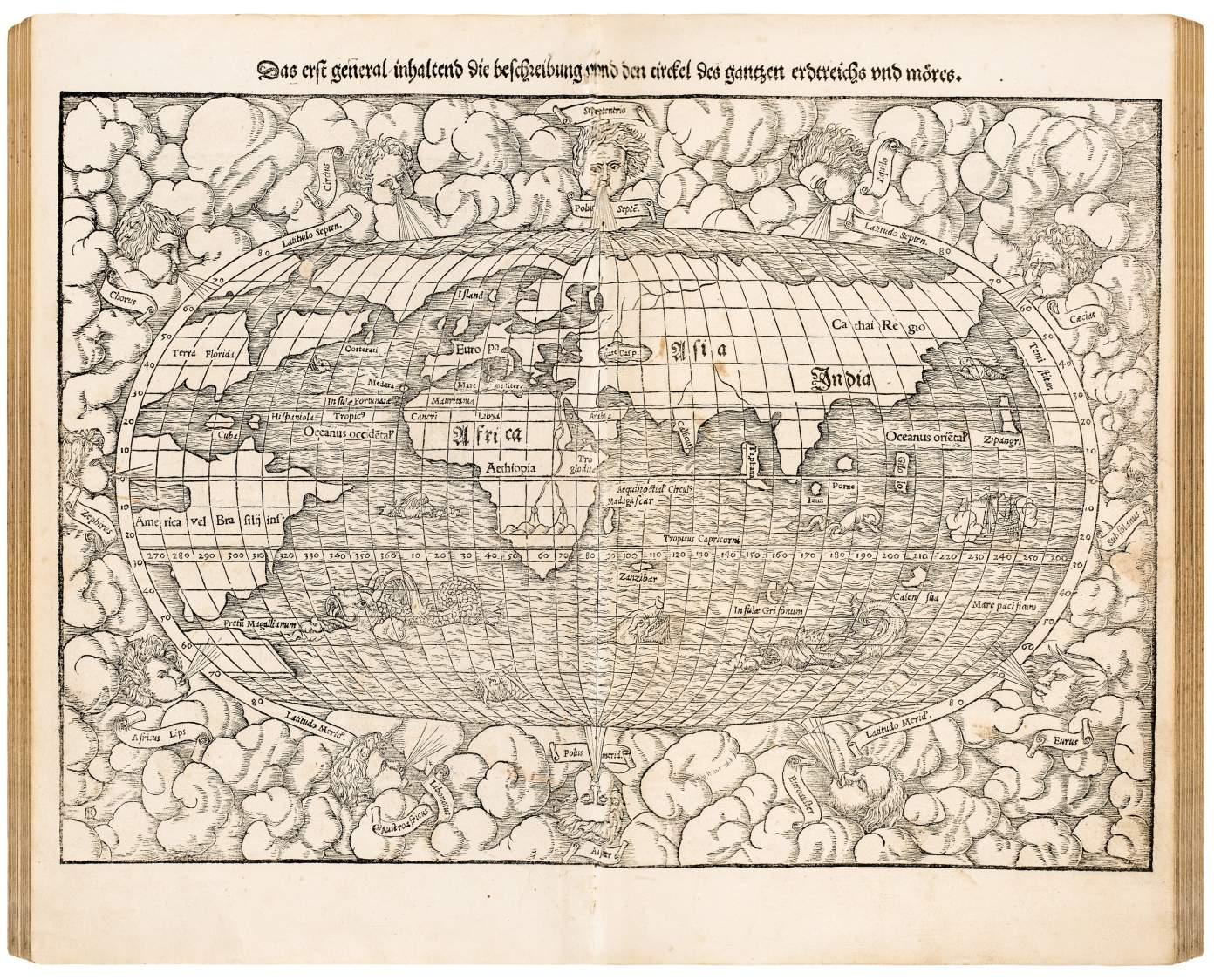 Cosmographei oder beschreibung aller länder
