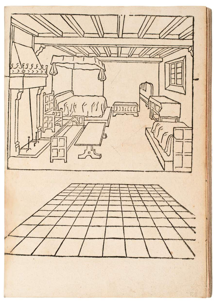 First Printed Treatise on Perspective in its First German Edition