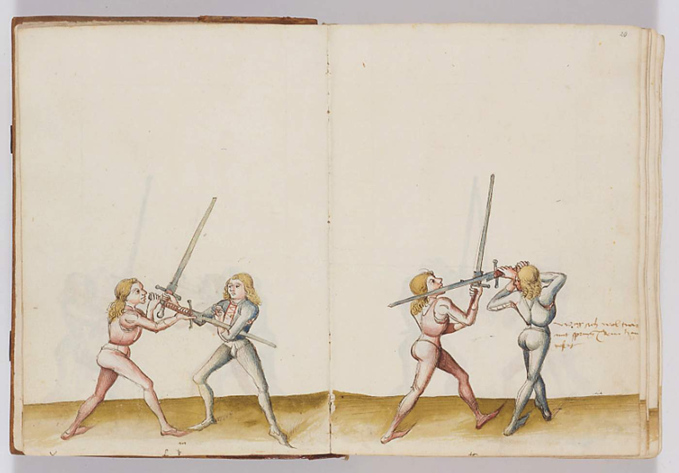 Fencing treatise