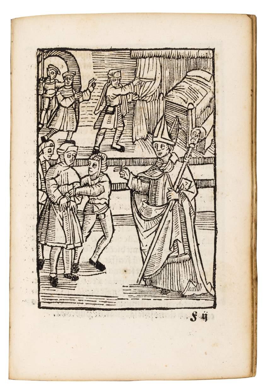 Splendidly illustrated Life of Saint Wolfgang