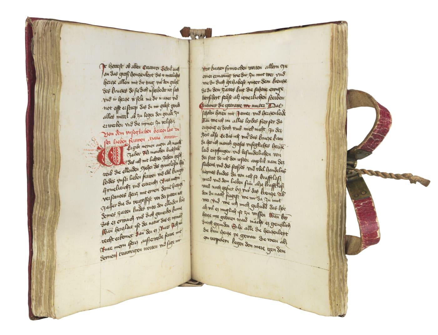Büchlein der ewigen Weisheit, in German (Booklet of Eternal Wisdom)