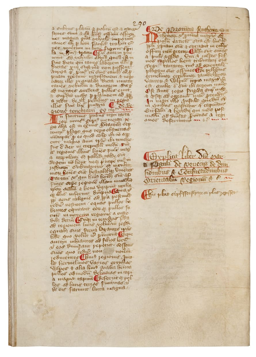 """The Courtenay Compendium: including Marco Polo's """"Description of the World"""" and other texts"""