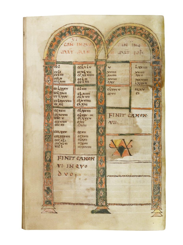 Four Gospels, in Latin