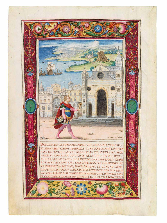 Dondedeo de' Fornari in Genoa
