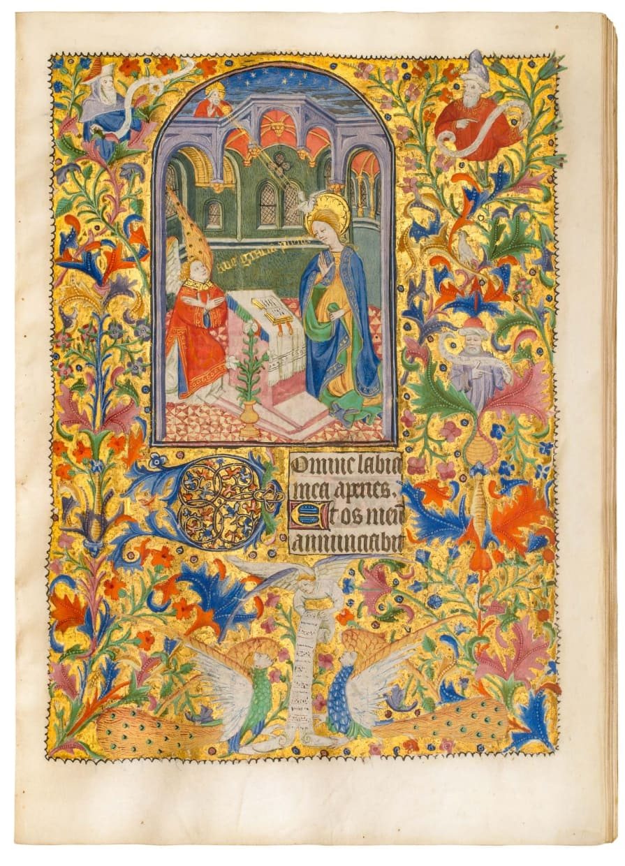 Talbot-Beauchamp Book of Hours, use of Sarum