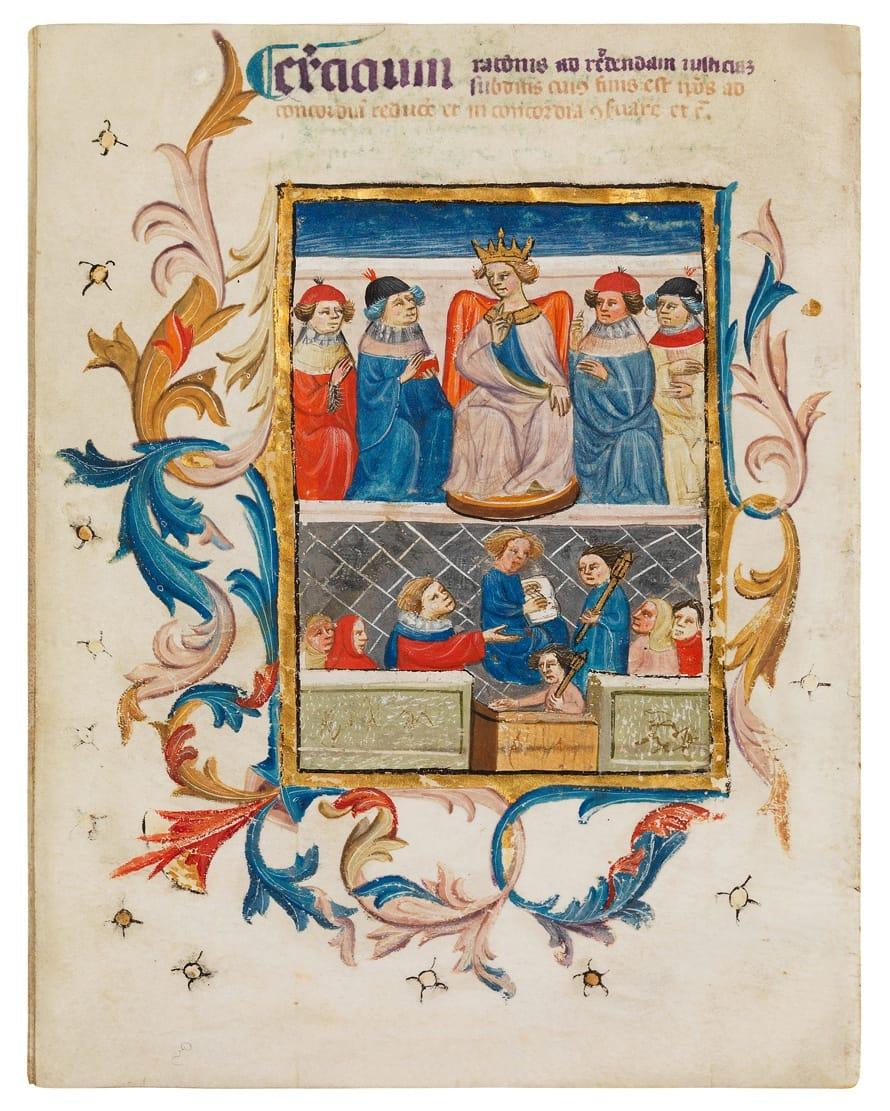 Compendium for Juan II, King of Castile and Leon