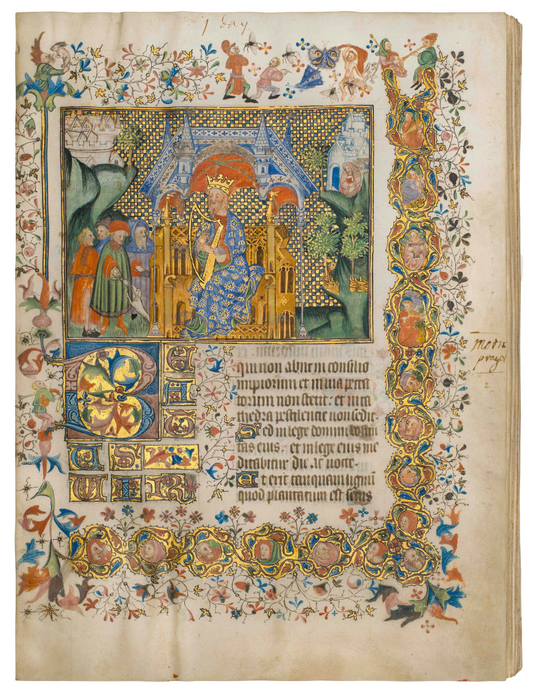 Psalter, use of Sarum