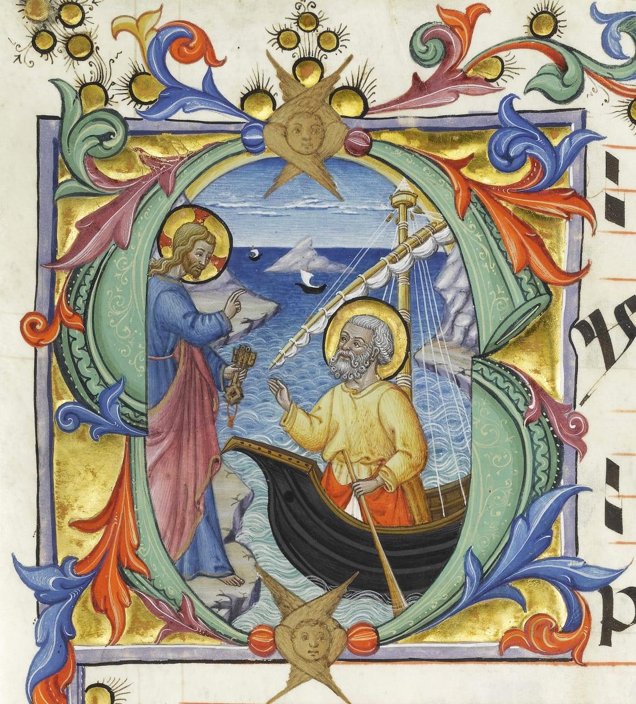 Christ calling Peter