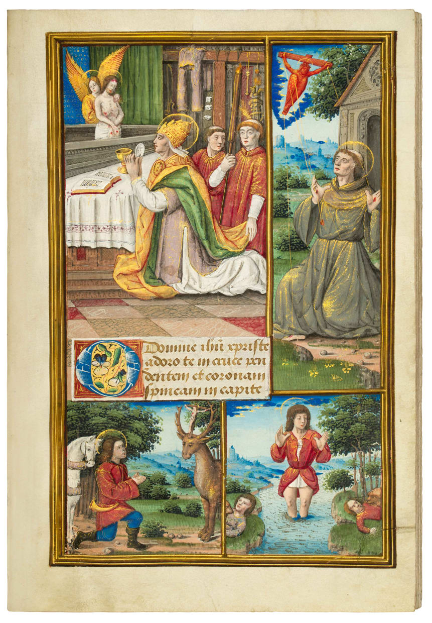 Book of Hours for Louis XII, use of Rennes